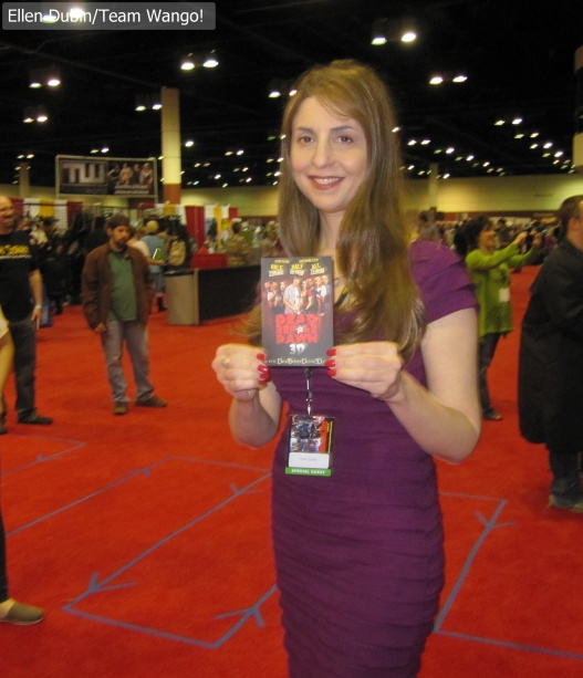 Ellen Dubin promotes Dead before Dawn 3D @ MegaCon 2013